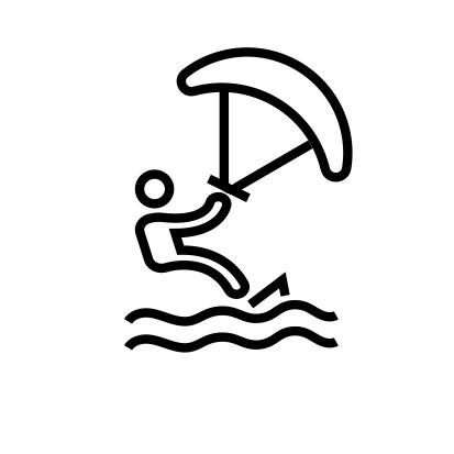 Surfing Kite