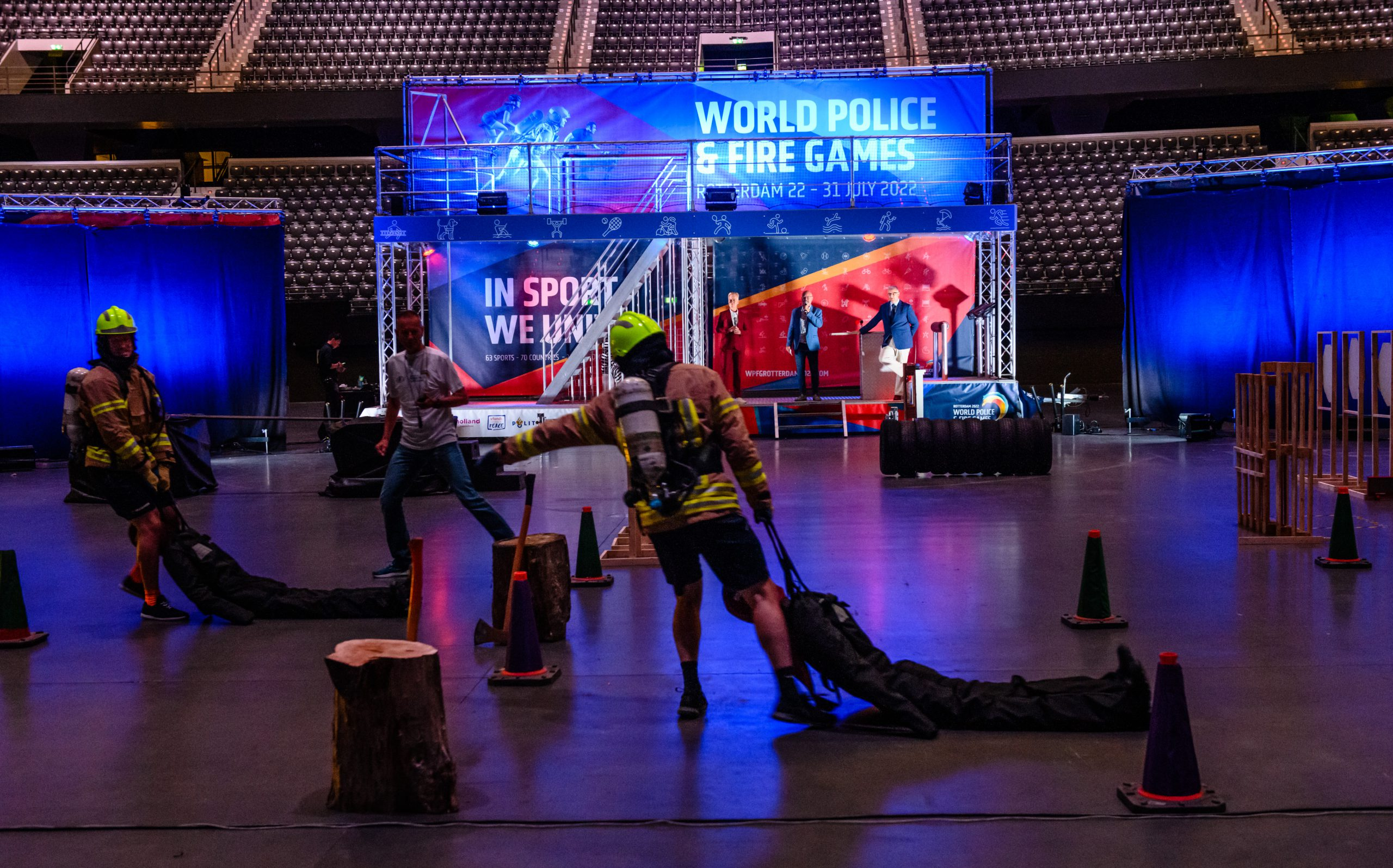 World Police & Fire Games 2022: one year to go