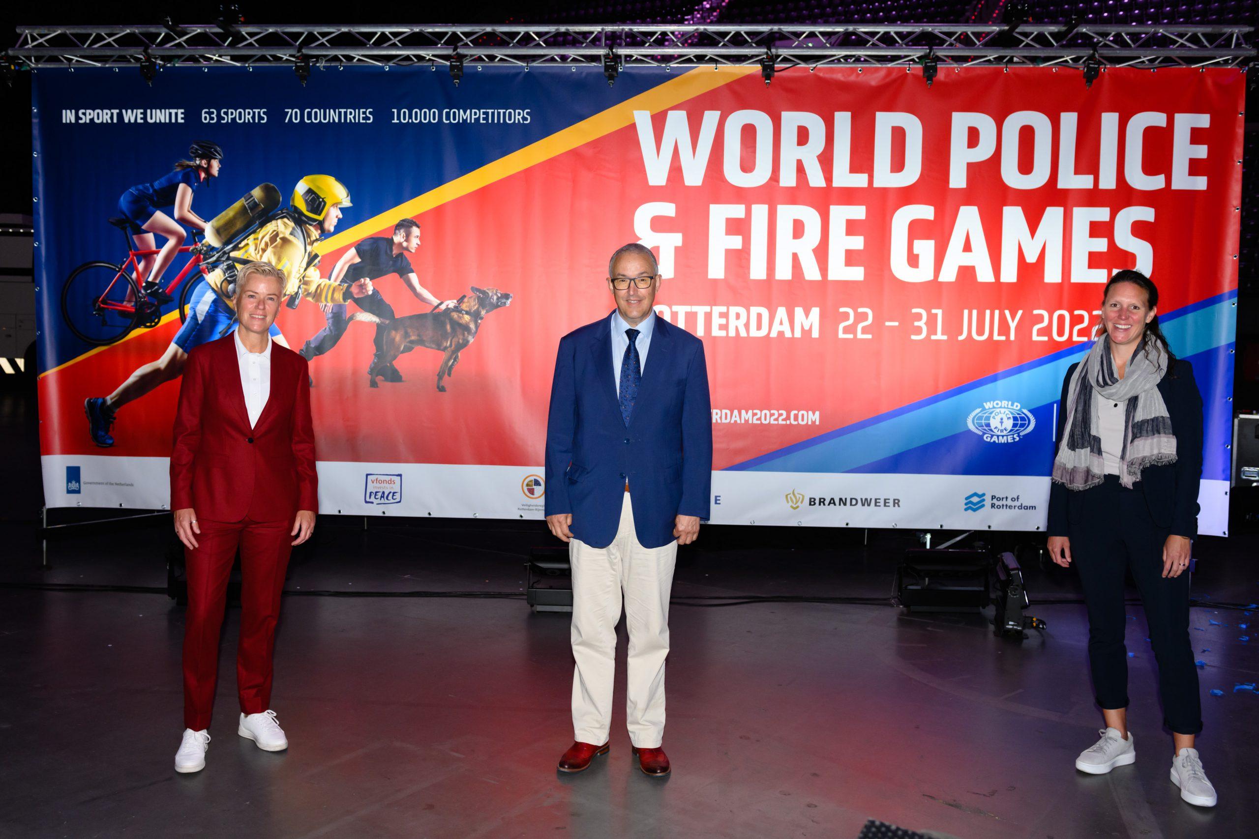 World Police & Fire Games 2022: nog één jaar te gaan